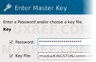 Both a Password and a Key File can be used to keep your password database safe.